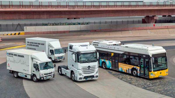 Concreta Daimler Trucks división para el desarrollo del hidrógeno