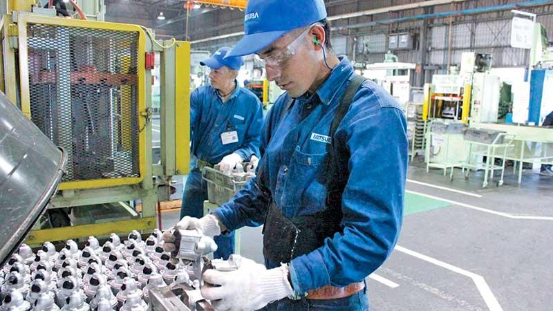 Industria manufacturera, motor en NL