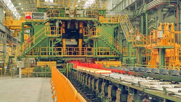 Acelera producción nuevo laminador de Ternium en Pesquería